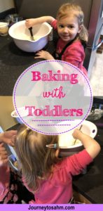 Make baking fun again! Baking doesn't need to be a chore. Grab your toddler, put on your matching aprons, and make it a special bonding moment. The laughs are irreplaceable. #momlife #parenting #laughter