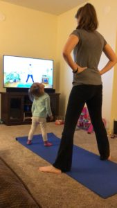I tried Yoga for 30 days. Find out what happened. #yoga #exercise #momlife