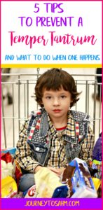 Did you know most temper tantrums are preventable? Learn the tips and tricks to help keep your toddler's temper out of control. Tantrum happening? I've got the tips to help you through it.