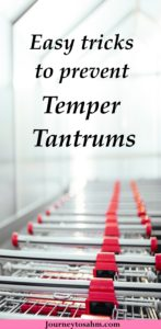 Ever been in a store when your child just goes into complete temper tantrum mode? You're not alone. Follows these tips to help temper tantrums from occurring in the first place and learn what to do when one happens. #toddler #shopping #momlife